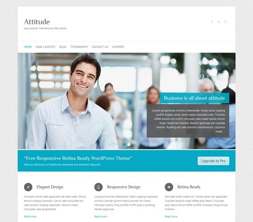 Attitude WordPress Free Theme