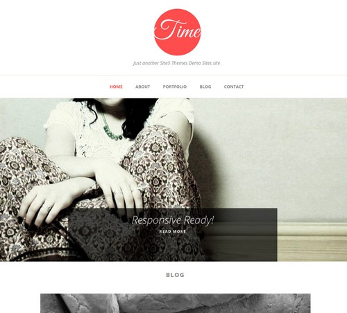 Time WordPress Blog Theme