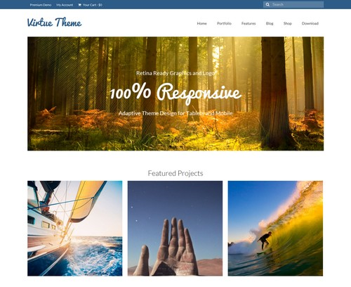 Virtue Free WP Theme