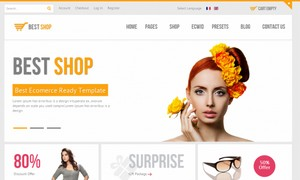 Best HTML Shop Templates for Ecommerce Website